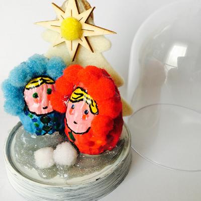 Des DIY autour du thème des poupées russes pour vos décorations de Noël